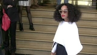Beyonce sister Solange Knowles having a blast with model friends Joan Smalls and Liya Kebede