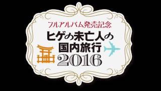 ヒゲの未亡人の国内旅行2016 11/12 東京 SuperDeluxe