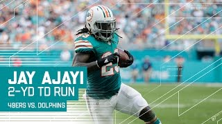 Jay Ajayi Takes the Pitch to the Outside for a TD! | 49ers vs. Dolphins | NFL