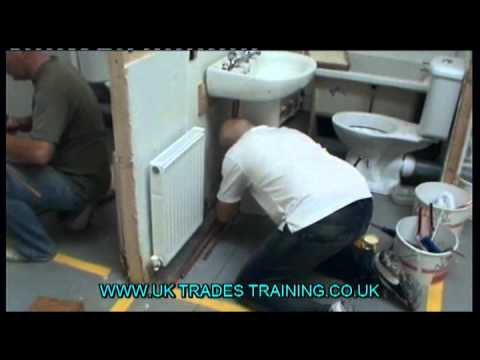 Plumbing Courses from UK Trades Training