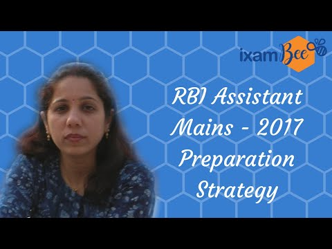 RBI Assistant Mains 2017- Preparation Strategy