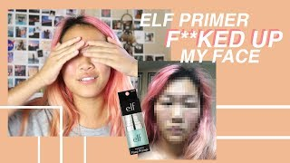 How an Elf Primer Turned My Face into a Literal Marshmallow (allergic reaction)