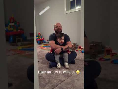 Eric Hunter - Baby Does His Best To Whistle For The Dog