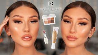 FULL FACE OF FENTY BEAUTY.. Easy Soft Glam 😙 | Hannah Renée