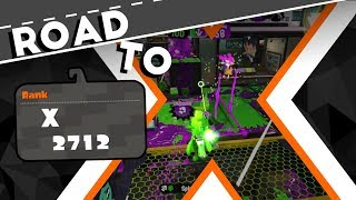 Splatoon 2 - Road to 2700 [Splat Zones Ranked]