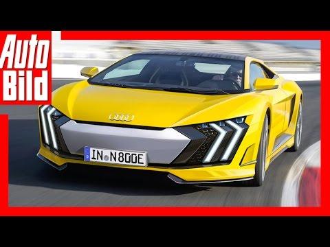Audi R8 (2017) - Audis neue Sportler