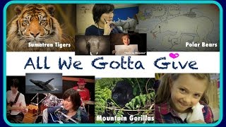 NEW (edit) Mayuka Thaïs - All We Gotta Give [Official Video] (Song to help save Endangered Species)