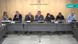 Ajuntament de Calafell: Sessió plenària ordinària, 4 de març 2019