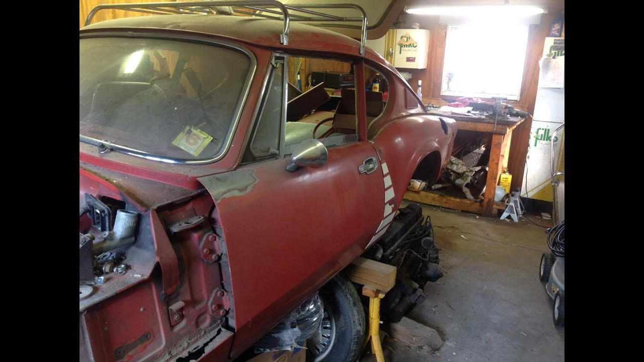 1972 Triumph Gt6 Restoration Project Part 1 I Got To See The Car
