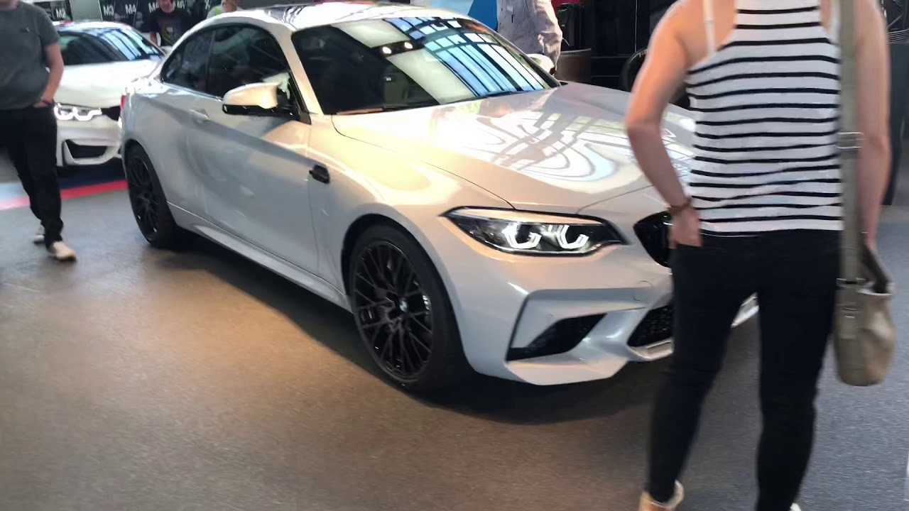 2019 Bmw M2 Competition Hockenheim Silver Walkaround Youtube