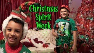 CHRISTMAS SPIRIT WEEK 2018   D&D FAMILY VLOGS