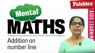 Learn basic of mental Maths for beginners    Addition on number line   Mental Maths Tricks