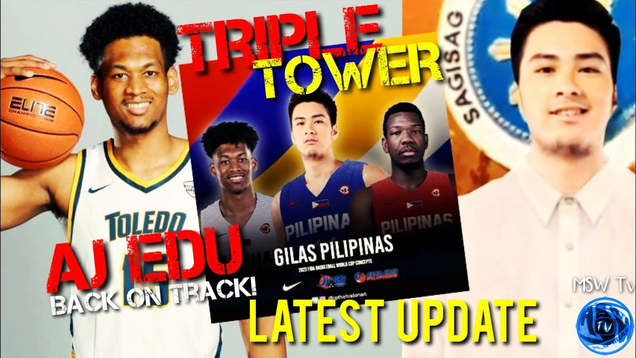 Download LATEST UPDATE: GILAS TRIPLE TOWER | AJ EDU BACK ON TRACK | KAI SOTTO FOR PRESIDENT?