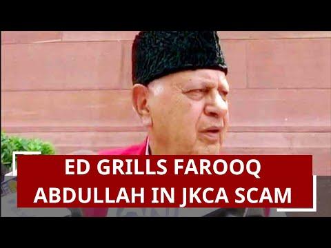 JKCA scam: Enforcement Directorate grills Farooq Abdullah