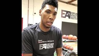 Allonzo Trier - Explosive Athletes Institute Testimonial