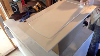 How to Paint Kitchen Cabinets: Step 10 Painting with a brush
