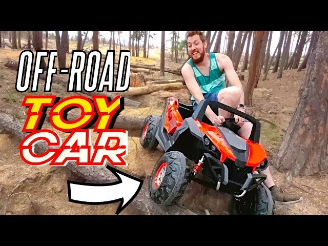 OFF ROADING IN A TOY CAR!