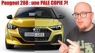 Mon avis design : La 208 une PALE COPIE de la concurrence ?!