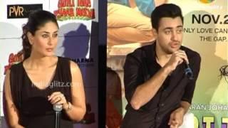 Imran, Kareena At 'Gori Tere Pyaar Mein' Trailer Launch | Bollywood Movie | Karan Johar, Punit