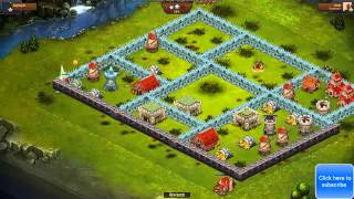 Throne Rush   Lets Play Throne Rush Ep.3 : A new UPDATE! New Units and Buildings (up to castle lv15)