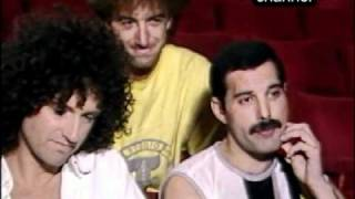 Queen - Live Aid - Backstage Interview Before The Show Video