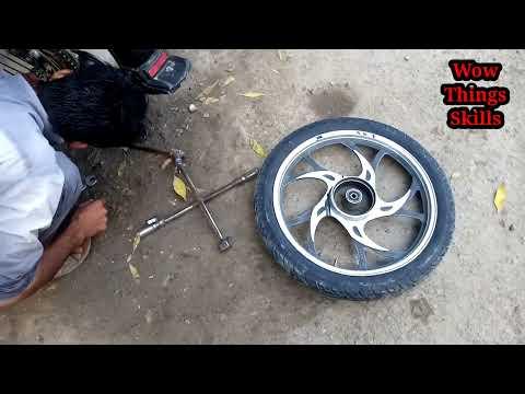 Amazing Repairing inner tube | tube puncture | Bicycle Tube Puncture Repair | inner tube leak repair thumbnail
