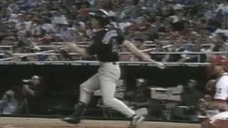 Counsell hits a three-run home run