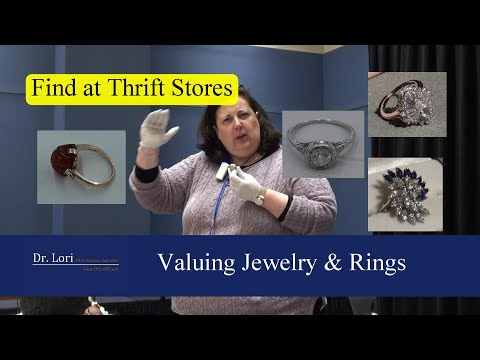 Valuing Antique Diamond & Amber Rings By Dr. Lori