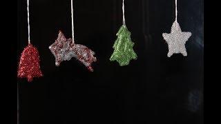 DIY Weihnachtliche Fensterdekoration,leicht und schnell selber machen /Christmas decorations