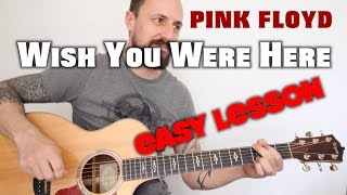 How to play Wish You Were Here Pink Floyd