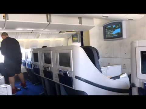 Egyptair Business Class 777-300ER Toronto Departure