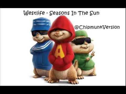 Westlife - Seasons In The Sun (Chipmunk Version)