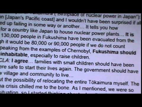 FUKUSHIMA: DECLARED UNINHABITABLE, IDAHO ON THE LIST OF REFUGEE PLACE?