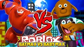 ROBLOX Superheld Tycoon - BABY MAX BECOMES BAYMAX - Little Club Baby Max