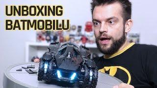 ON SIĘ MIAŁ NIE UKAZAĆ! Unboxing Batman Arkham Knight Batmobile Edition