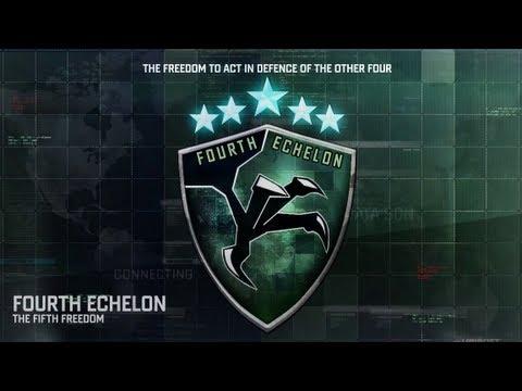 SPLINTER CELL BLACKLIST 4th Echelon Logo Debrief HD