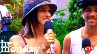 Hey Monday Interview #2 at Warped Tour 2010 - BVTV