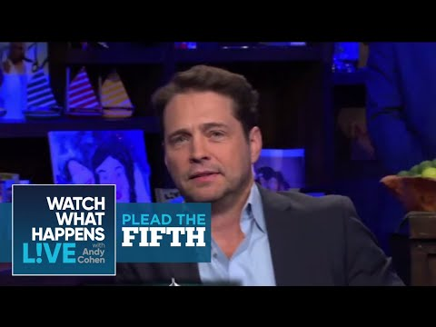 Did things get GAY with Jason Priestley & Brad Pitt?  Plead the Fifth  WWHL