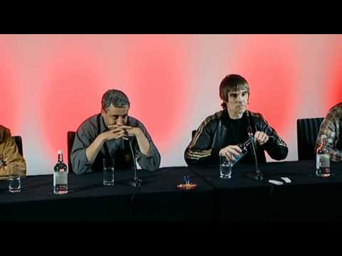 The Stone Roses reunion press conference part 1