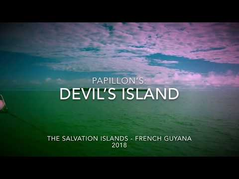 Visiting Papillon's Devil's island - French Guiana 2018