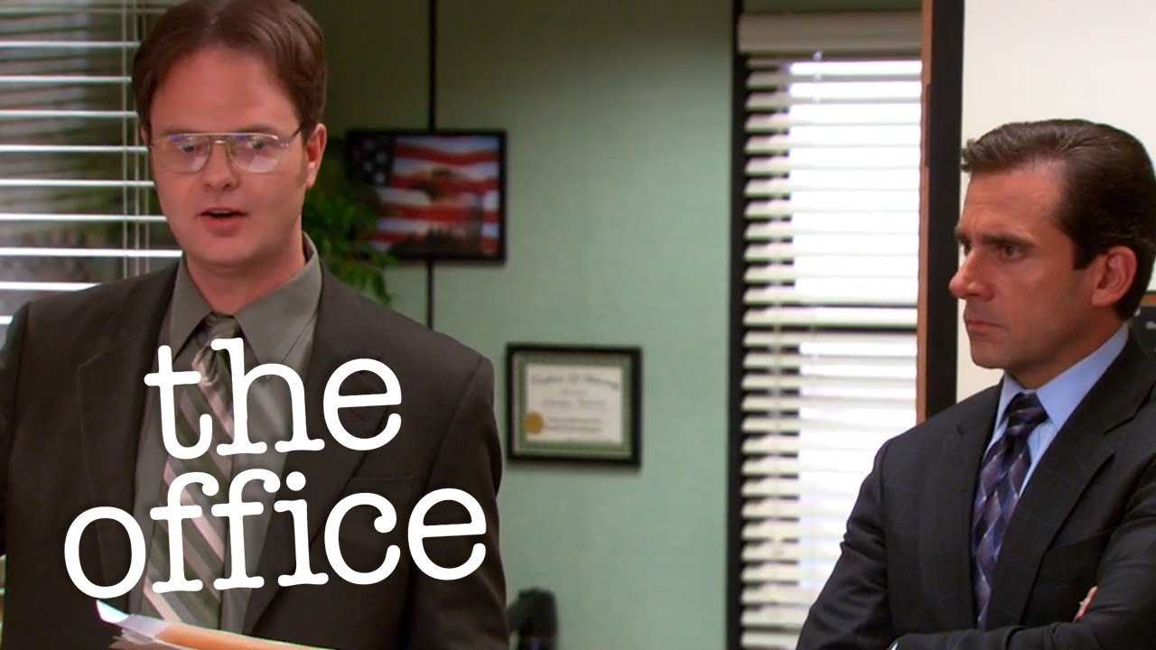 Dwight's Freudian Slip - The Office US