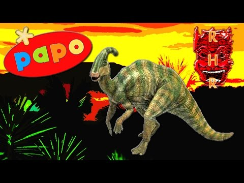 (The Lost World) Papo® Parasaurolophus Review