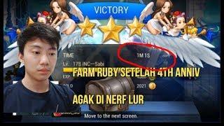 FARMING RUBY DI NERF SEDIKIT LUR! TIPS FARMING RUBY SETELAH 4TH ANNIV SEVEN KNIGHTS