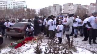 Поминки Ивана Климова в Омске, 9 день