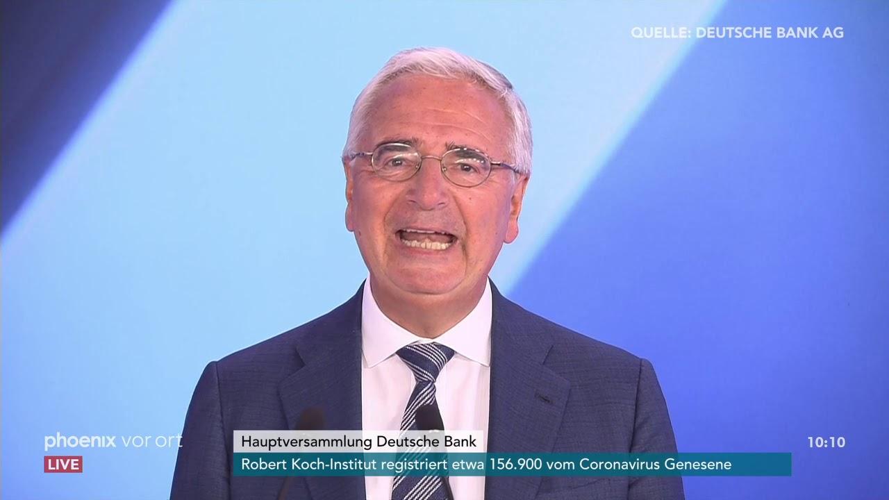 Hauptversammlung Deutsche Bank 2021