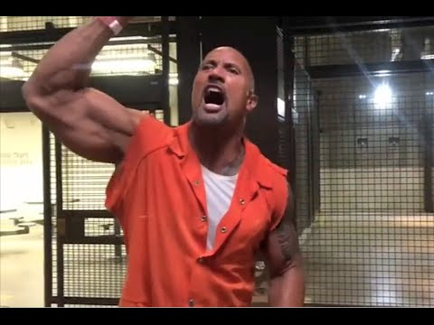 The Rock's Prison Break Scene - Fast 8 (Behind The Scenes)