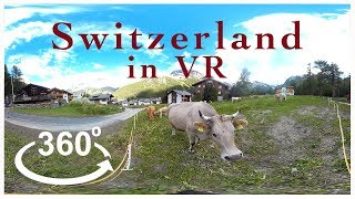 Virtually Switzerland - Saas-Fee - by World Travel VR - (360 Video)