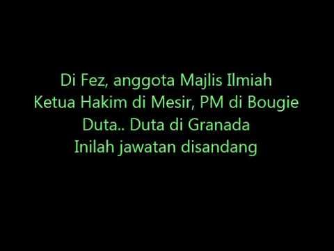 TOKOH F5 : IBNU KHALDUN - DIUBAH LIRIK UTK PDP PEND ISLAM