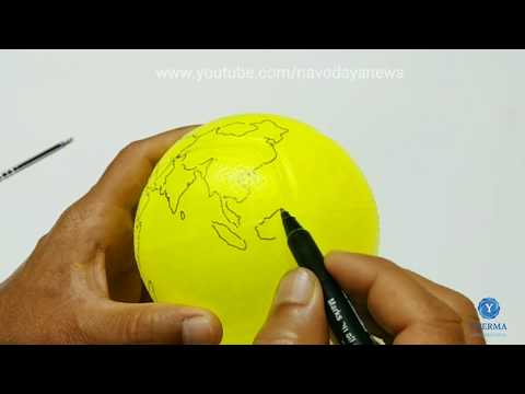 3D Globe Model making-for class project