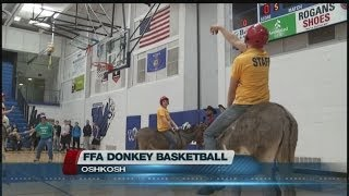 FFA Donkey Basketball